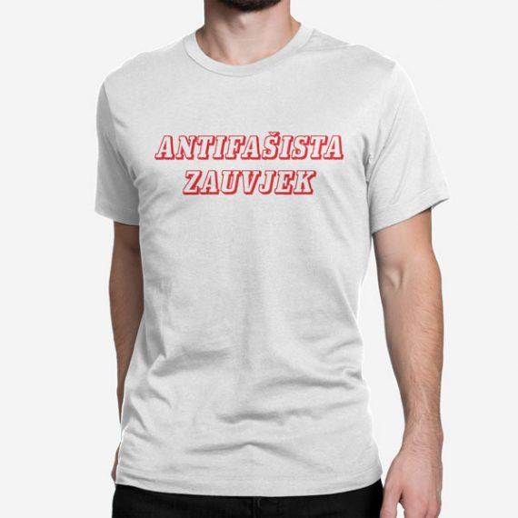 Moška kratka majica Antifašista zauvjek