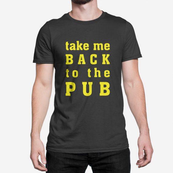 Moška kratka majica Back to the Pub