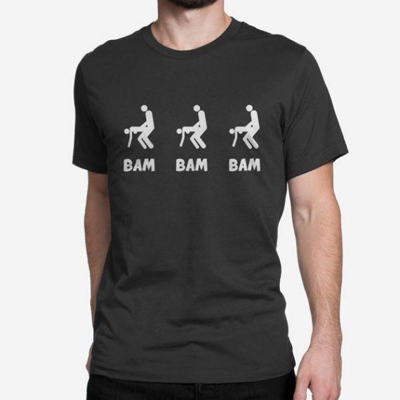 Moška kratka majica Bam Bam Bam