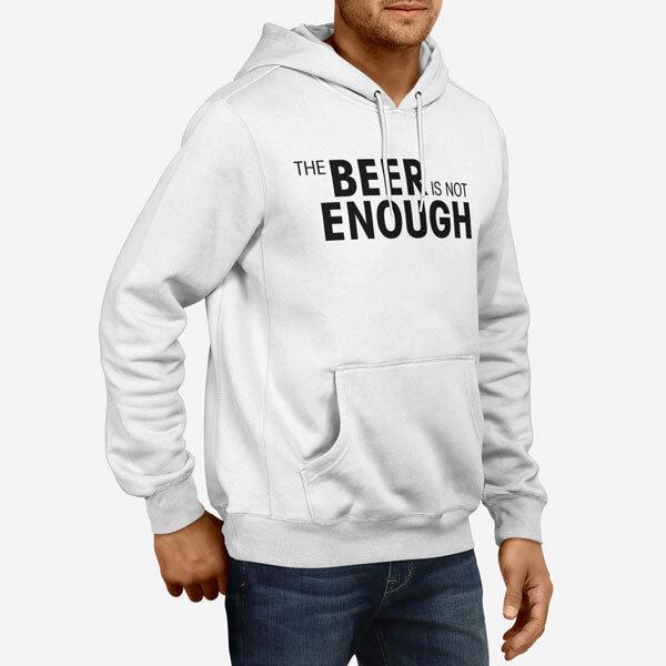 Moški pulover s kapuco Beer Enough