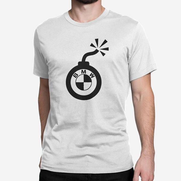 Moška kratka majica BMW bomba