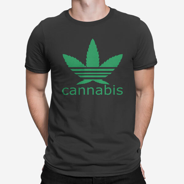 Moška kratka majica Cannabis