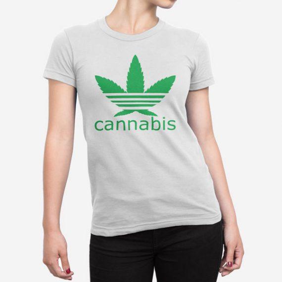 Ženska kratka majica Cannabis