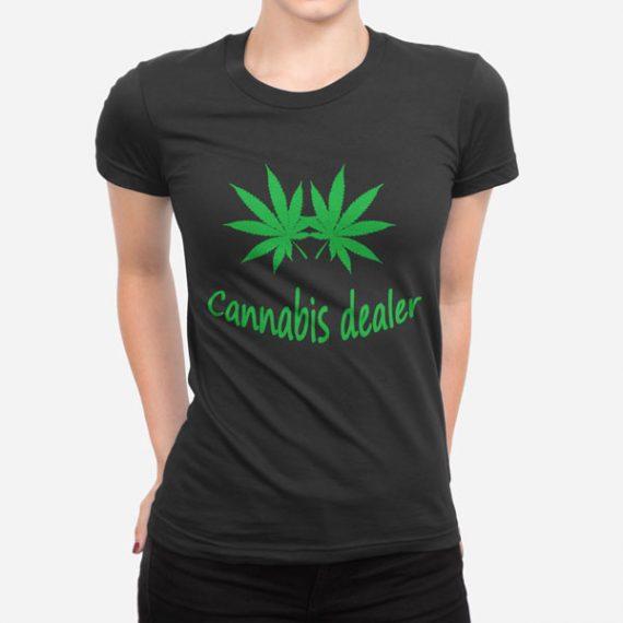 Ženska kratka majica Cannabis Dealer