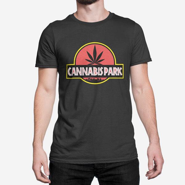 Moška kratka majica Cannabis Park