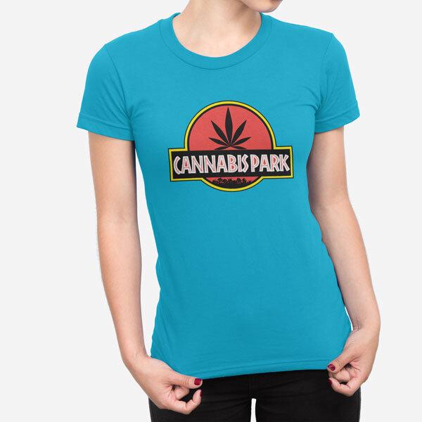 Ženska kratka majica Cannabis Park