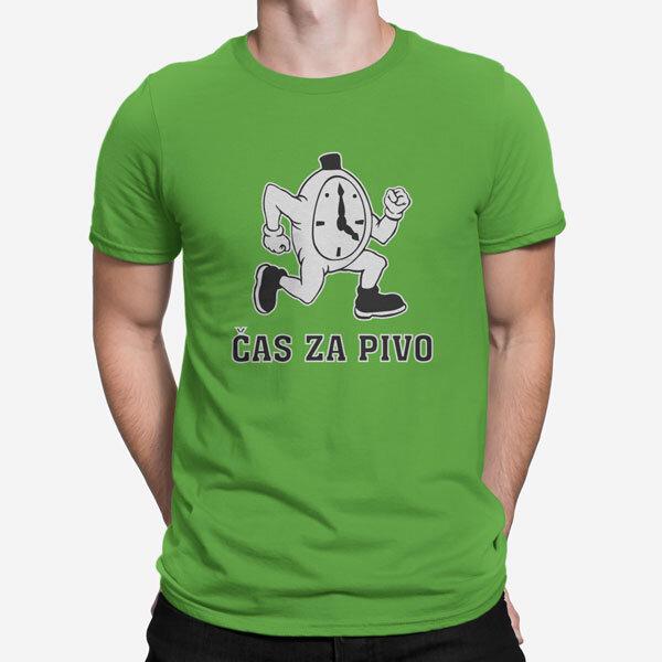 Moška kratka majica Čas za pivo