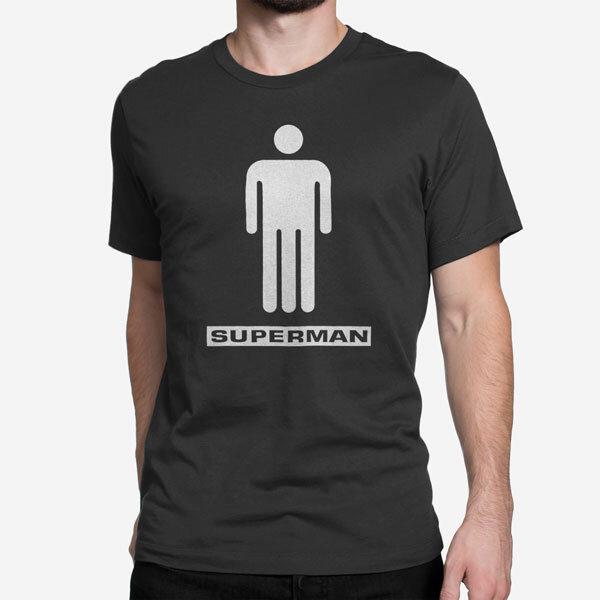 Moška kratka majica Superman penis