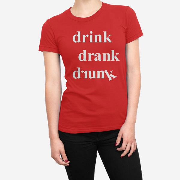 Ženska kratka majica Pijan