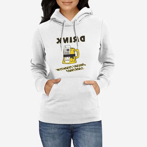 Ženski pulover s kapuco Nadzor piva