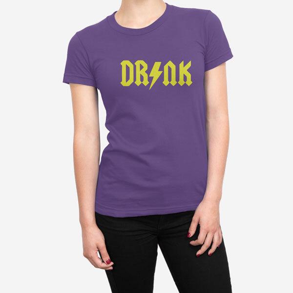 Ženska kratka majica Drink