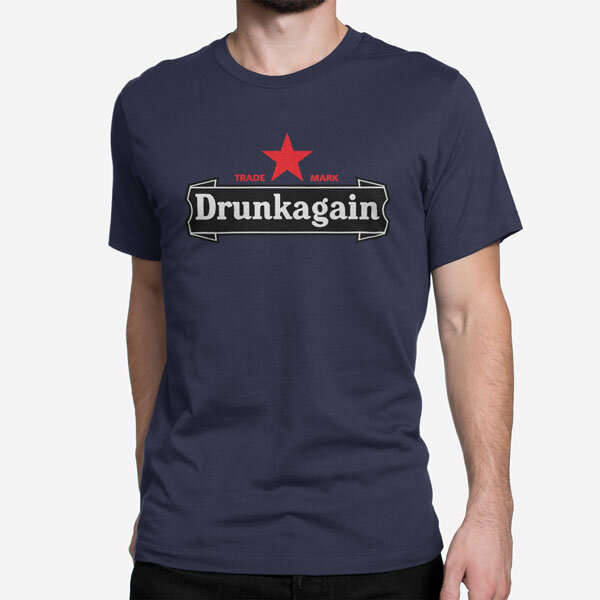 Moška kratka majica Drunkagain
