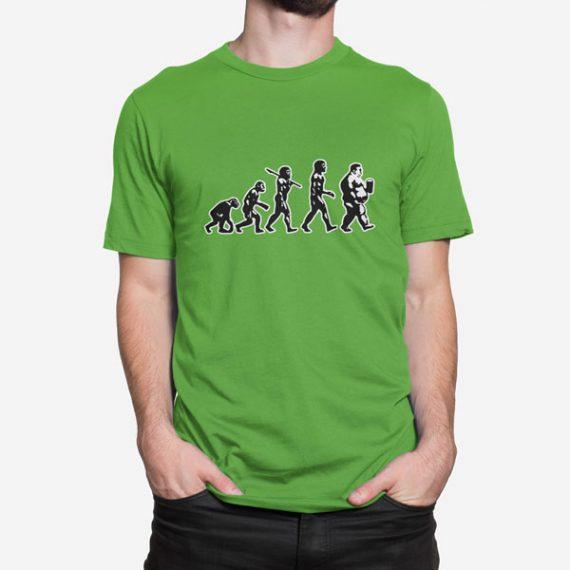 Moška kratka majica Evolucija Pivo pivca