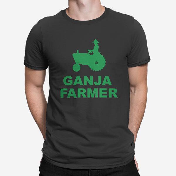 Moška kratka majica Kmetovalec