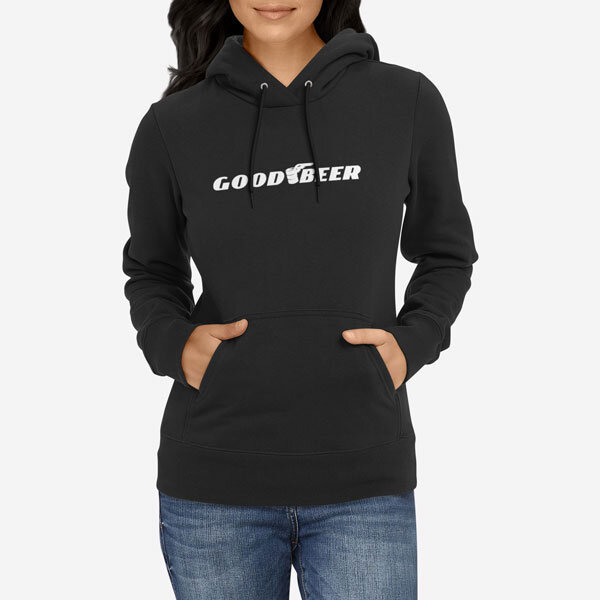 Ženski pulover s kapuco Good Beer
