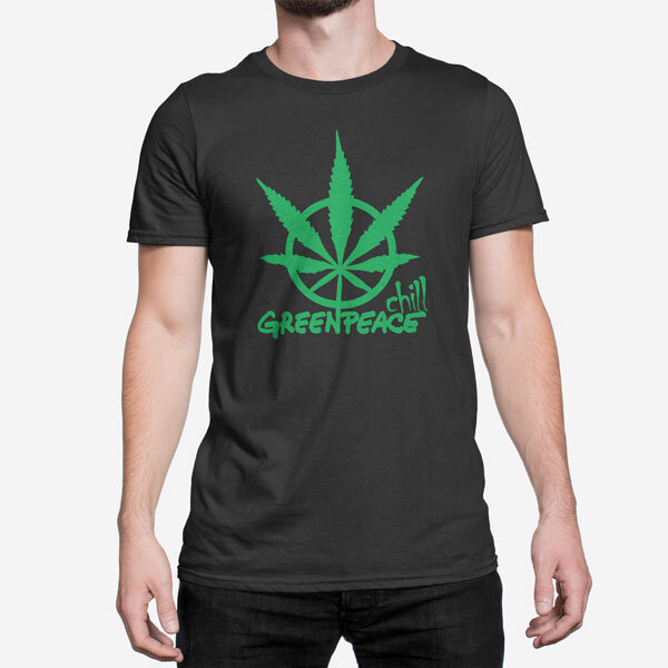 Moška kratka majica Greenpeace Chill
