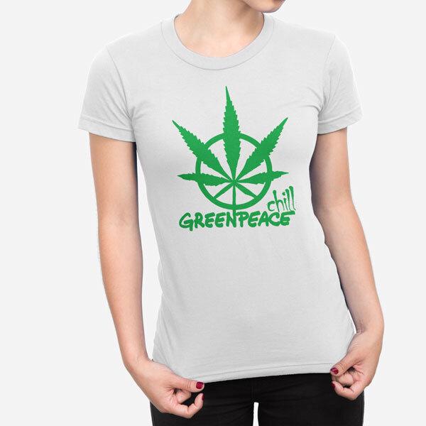 Ženska kratka majica Greenpeace Chill