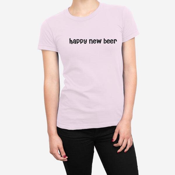 Ženska kratka majica Happy New Beer