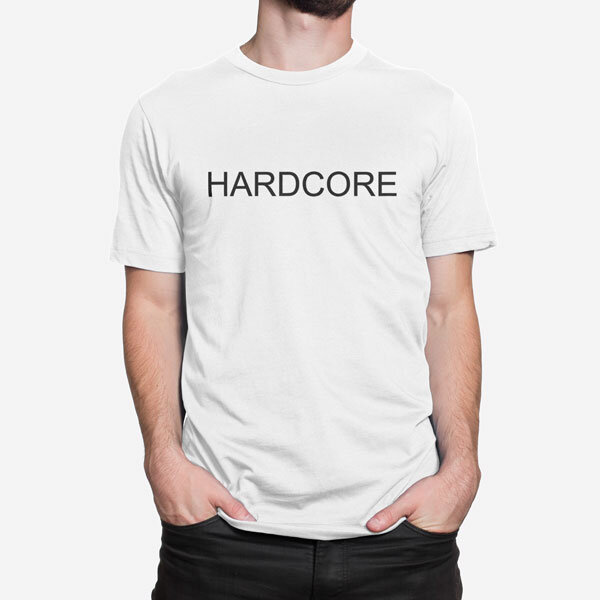 Moška kratka majica Hardcore