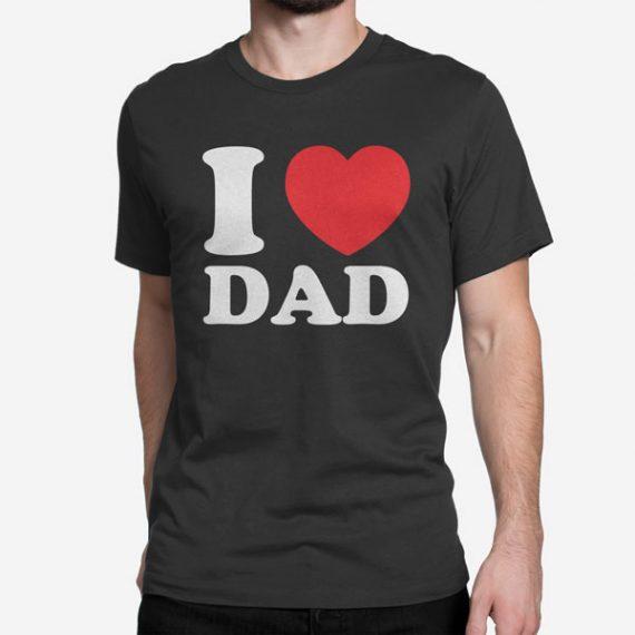 Moška kratka majica I Love Dad