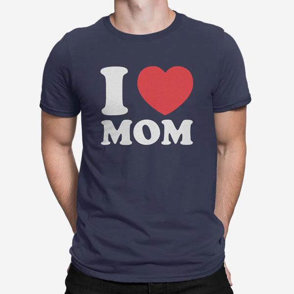 Moška kratka majica I Love Mom