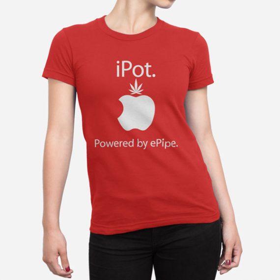 Ženska kratka majica iPot