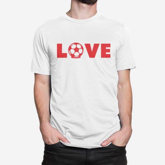 Moška kratka majica Love nogomet