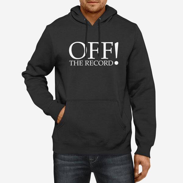 Moški pulover s kapuco Off Record