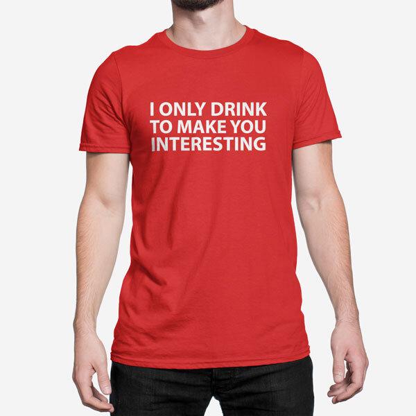 Moška kratka majica I Only Drink
