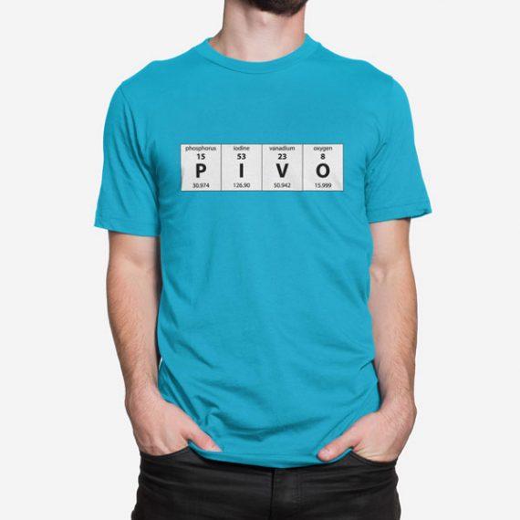 Moška kratka majica Periodni element Pivo