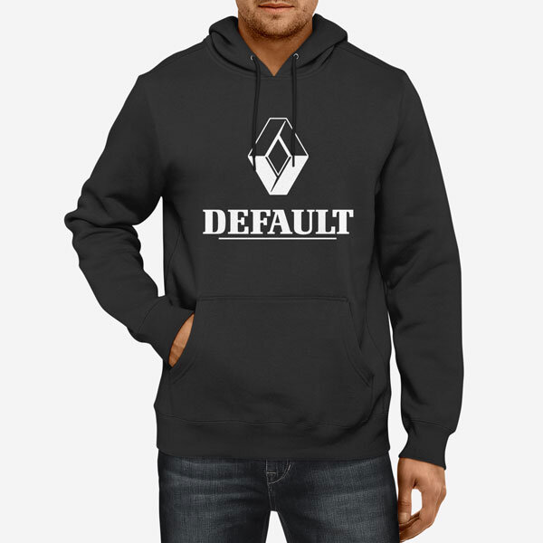 Moški pulover s kapuco Default