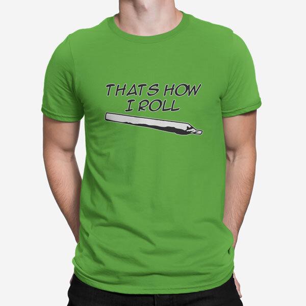 Moška kratka majica How I Roll