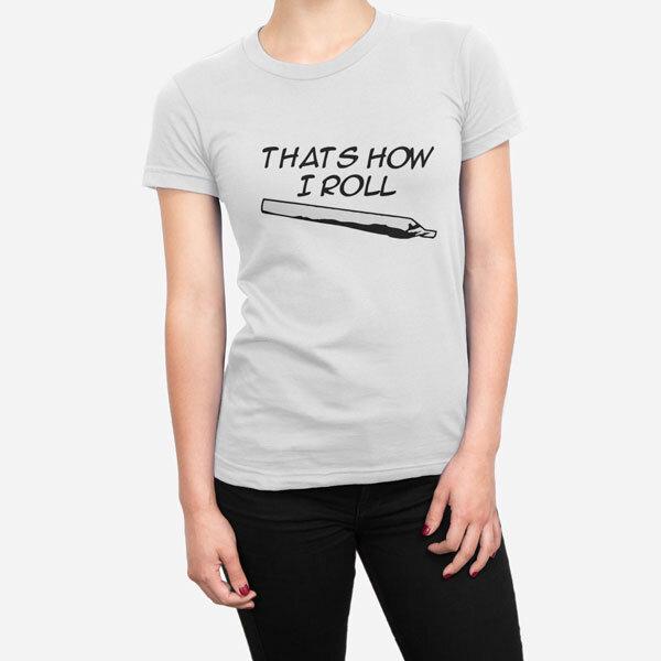 Ženska kratka majica How I Roll