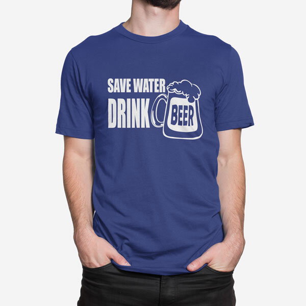 Moška kratka majica Save Water