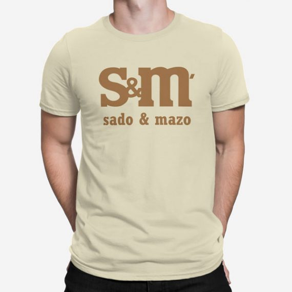 Moška kratka majica Sado Mazo