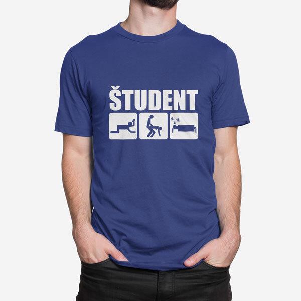 Moška kratka majica Študent