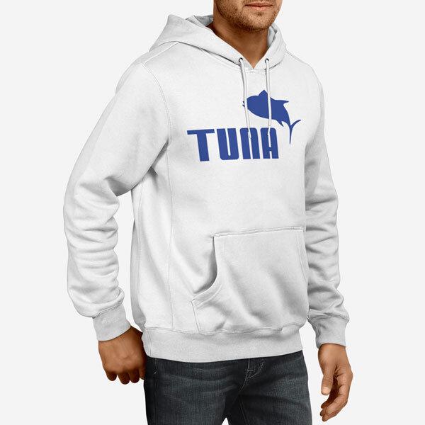 Moški pulover s kapuco Tuna
