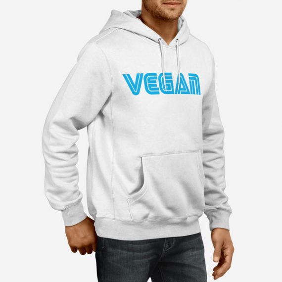 Moški pulover s kapuco Vegan