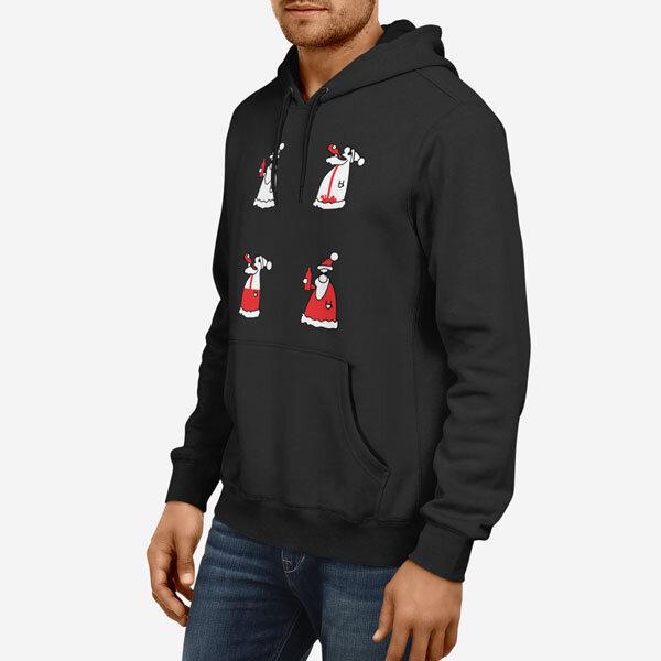 Moški pulover s kapuco Vinjen Božiček