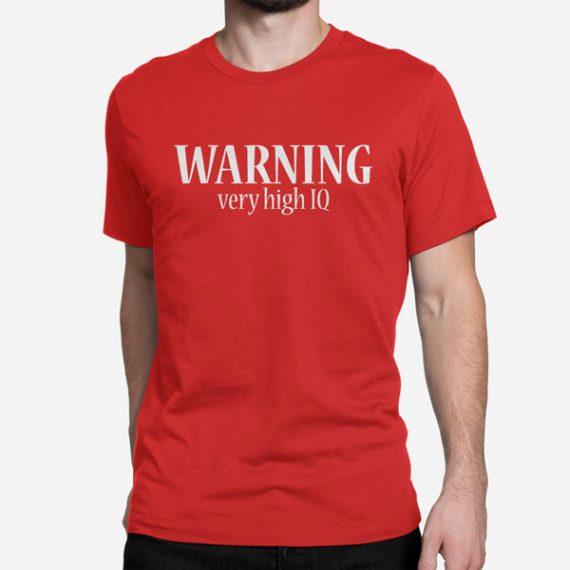 Moška kratka majica Warning IQ