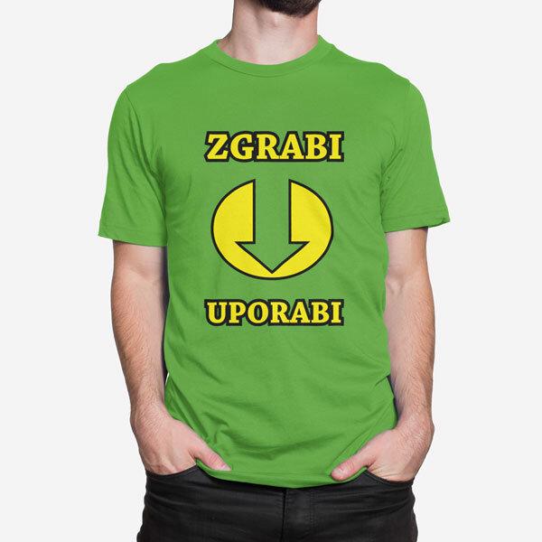 Moška kratka majica Zgrabi in uporabi
