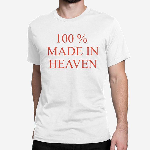 Moška majica kratek rokav Heaven