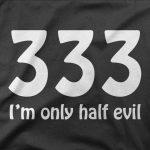 Design 333 half evil