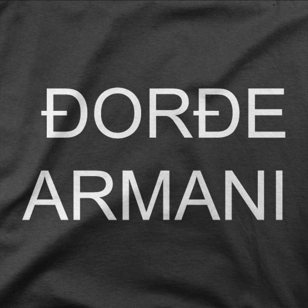 Design Đorđe Armani