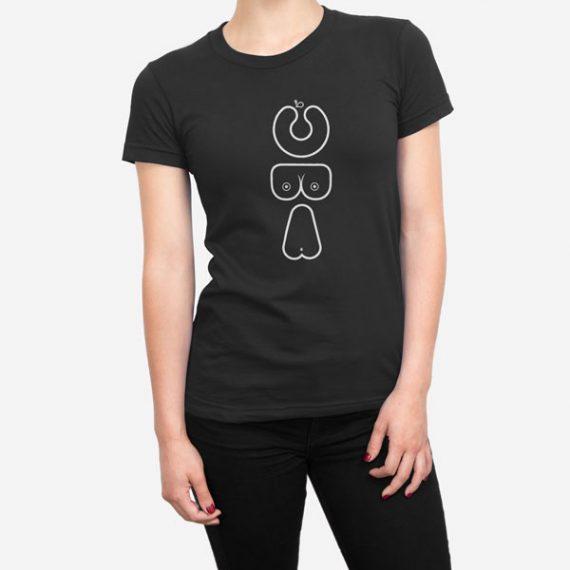 Ženska kratka majica ABC