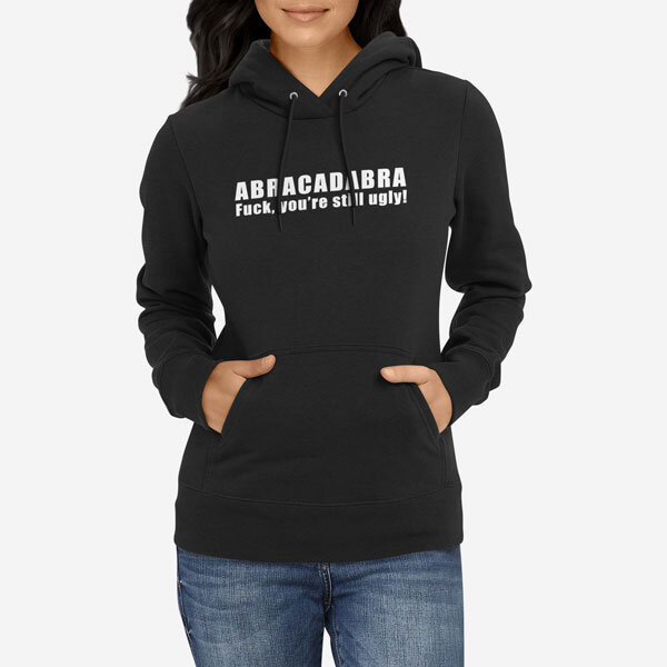 Ženski pulover s kapuco Abracadabra