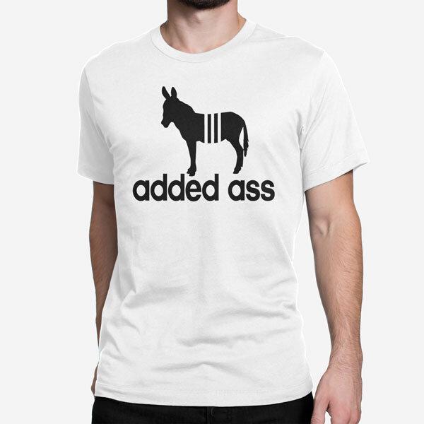 Moška kratka majica Added Ass