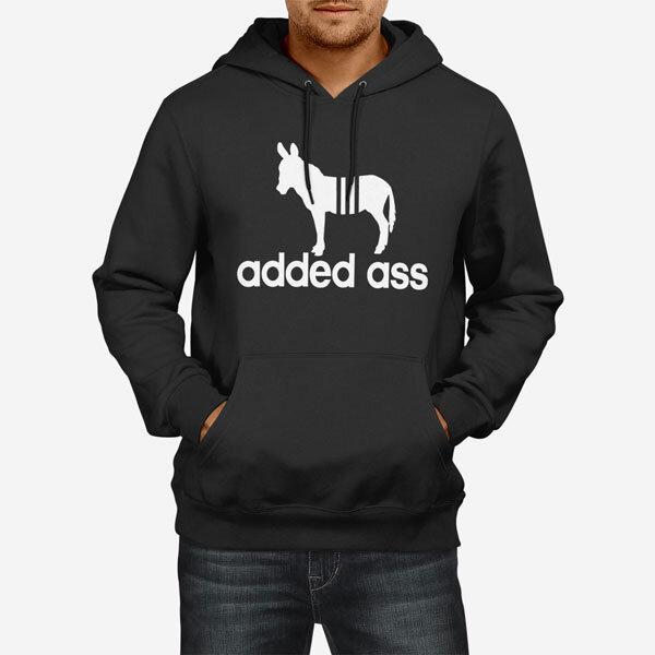 Moški pulover s kapuco Added Ass