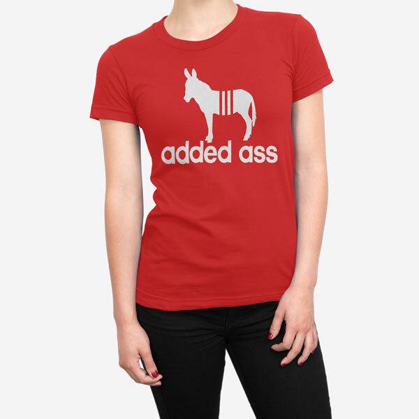 Ženska kratka majica Added Ass
