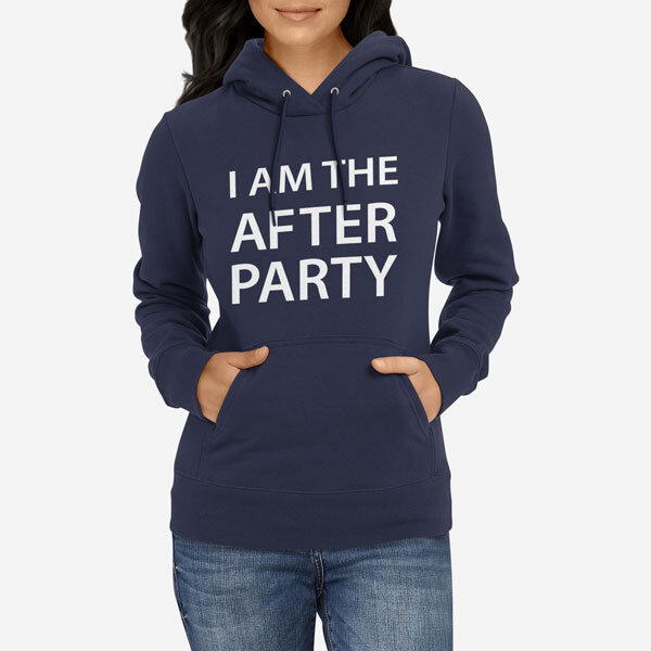 Ženski pulover s kapuco